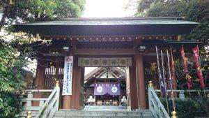東京大神宮 神門