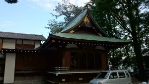 北澤八幡宮 神楽殿