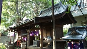 北澤八幡宮 野屋敷稲荷社