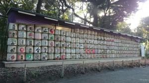明治神宮 献納日本酒樽