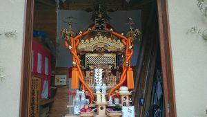 北澤八幡宮 本社神輿