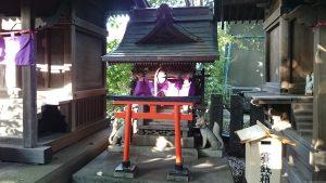 北澤八幡宮 愛宕稲荷社