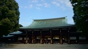 明治神宮 外拝殿