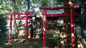 北澤八幡宮 境内社鳥居