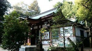 北澤八幡宮 社殿全景