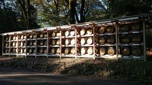 明治神宮 献納ワイン樽