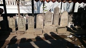 豐榮稲荷神社 庚申塔