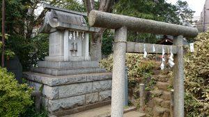 鳩森八幡神社 富士浅間神社 里宮 (2)