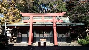 赤坂日枝神社 山王稲荷神社拝所