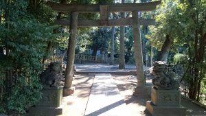 渋谷氷川神社 北参道鳥居