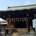 五條天神社 拝殿