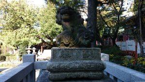 五條天神社 狛犬 (2)