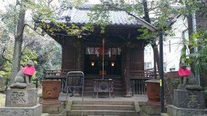 赤坂氷川神社 四合稲荷社 (2)