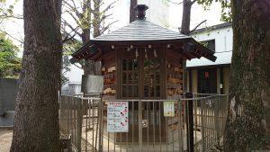 鳩森八幡神社 将棋堂