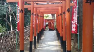 花園稲荷神社 鳥居 (2)