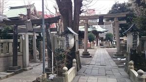小野照崎神社 西側鳥居