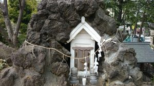 鳩森八幡神社 富士浅間神社 奥宮