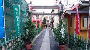 新橋烏森神社 一の鳥居・参道