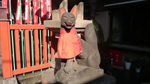 千代田稲荷 狛狐