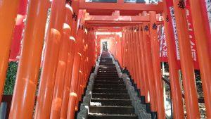 赤坂日枝神社 裏参道(稲荷参道) (2)