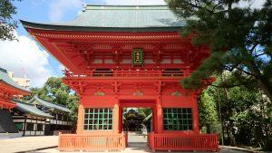 穴八幡宮 平成10年造営随神門