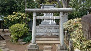 鳩森八幡神社 富士浅間神社 里宮 (1)