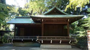 渋谷氷川神社 神楽殿