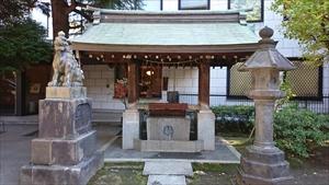 青山熊野神社 手水舎