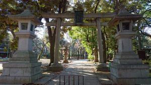 赤坂氷川神社 東参道二の鳥居