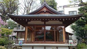 鳩森八幡神社 能楽殿