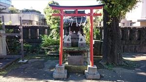麻布氷川神社 末社高尾稲荷神社・應恭稲荷神社