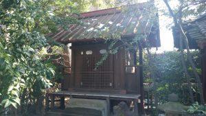 渋谷氷川神社 境内社厳島神社