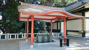 赤坂日枝神社 手水舎