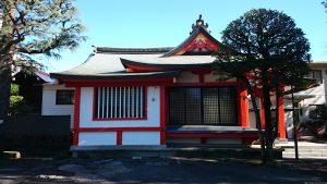 麻布氷川神社 社殿全景