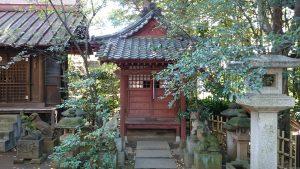渋谷氷川神社 稲荷神社