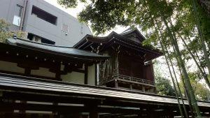 鳩森八幡神社 本殿