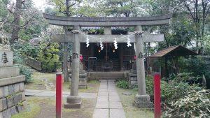 赤坂氷川神社 四合稲荷社 (1)