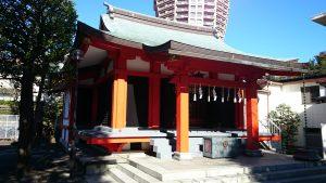 麻布氷川神社 拝殿
