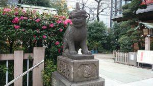 芝大神宮 獅子