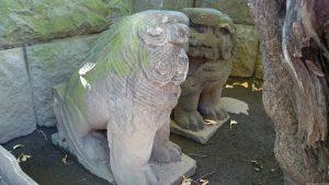 麻布氷川神社 狛犬 (2)
