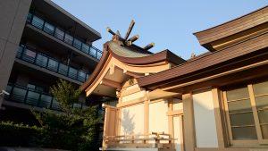 穏田神社 本殿