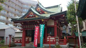 吉原神社 拝殿