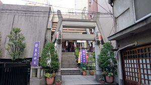 新橋烏森神社 二の鳥居