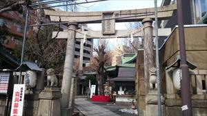 小野照崎神社 正面鳥居