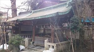 小野照崎神社 手水舎