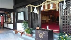 出雲大社東京分祠 拝殿