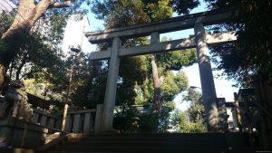 渋谷氷川神社 二の鳥居