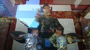 赤坂日枝神社 随神 (左)