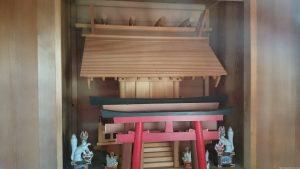 大山稲荷神社 御社殿
