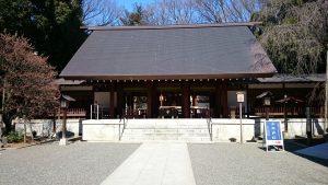 乃木神社 境内・拝殿